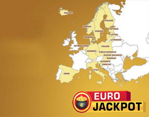 Eurojackpot deltakende nasjoner