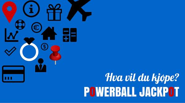amerikanske Powerball lotteriet