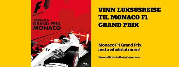Vinn en luksusreise for to til Monaco F1 Grand Prix
